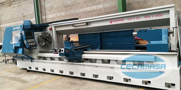 CNC lathe CECAMASA: Gemini GHT5 G2