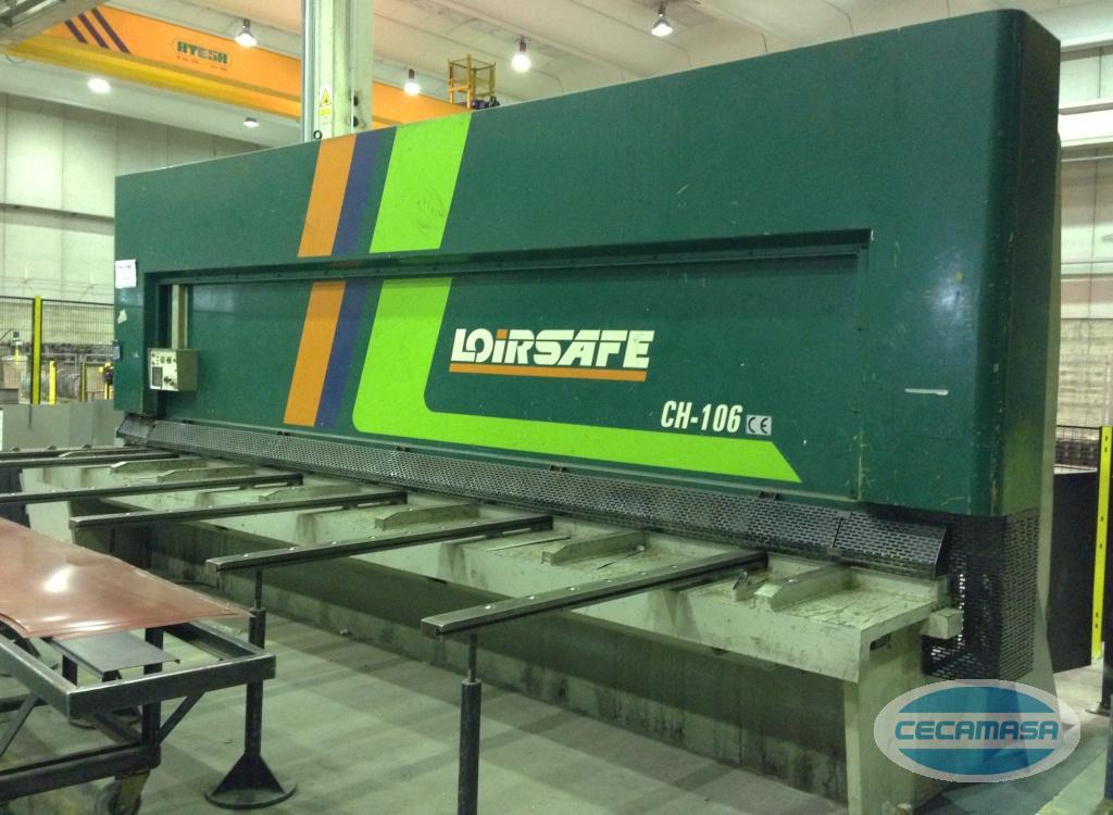 robust shears for proper deformation of sheet metal