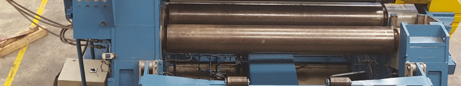 The bending rolls are sheet metal forming machines