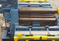 Los cilindros curvadores son máquinas de deformación de chapa
