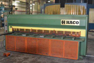 Cizalla mecánica con embrague electro-neumático HACO MS3004