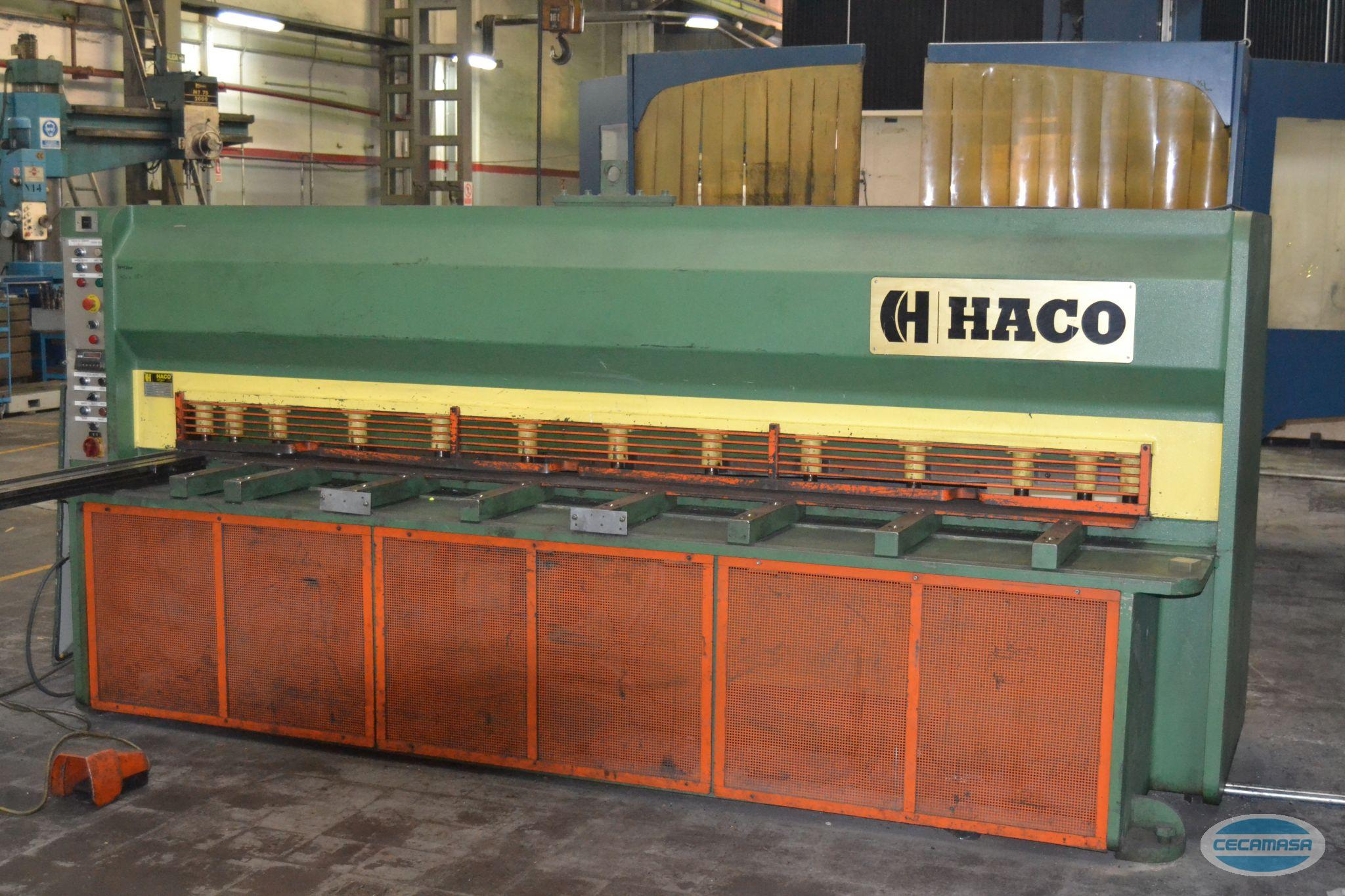 Mechanical shear with electro-pneumatic clutch HACO MS3004