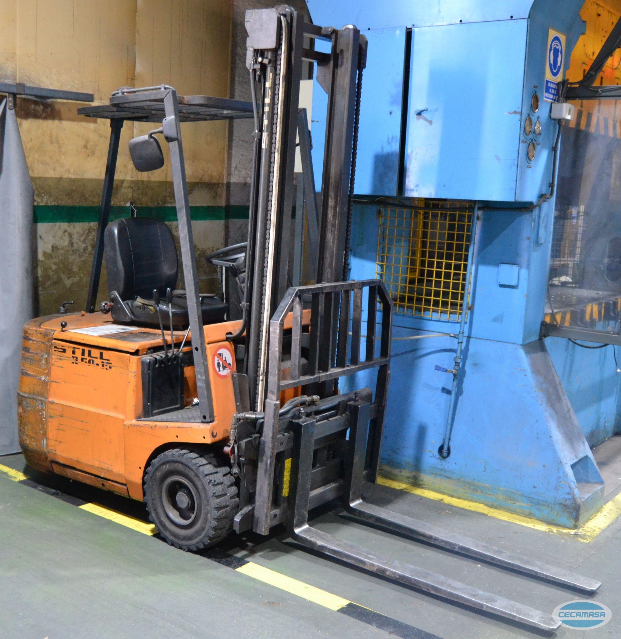 Electric forklift STILL R50-15