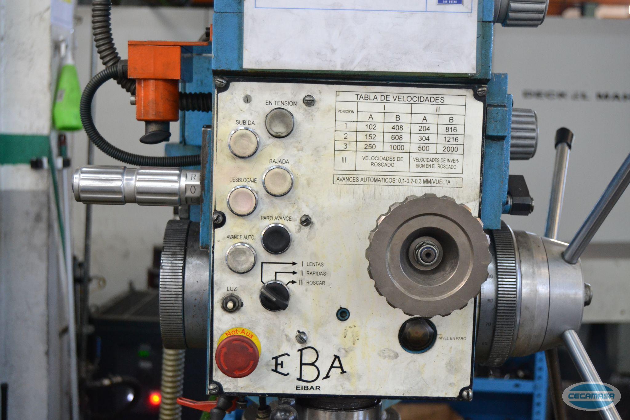 Taladro radial EBA