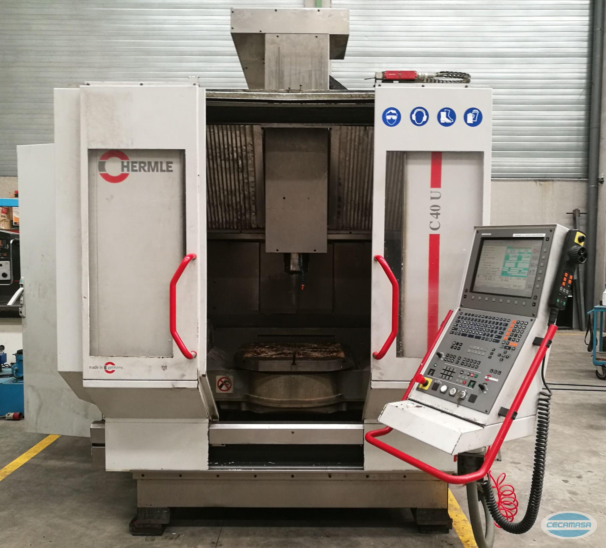 CENTER machining center HERMLE C40U - 0