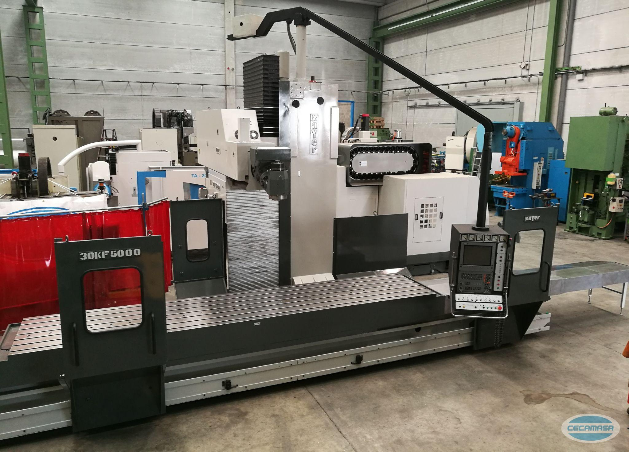ZAYER 30 KF 5000 MILLING MACHINE