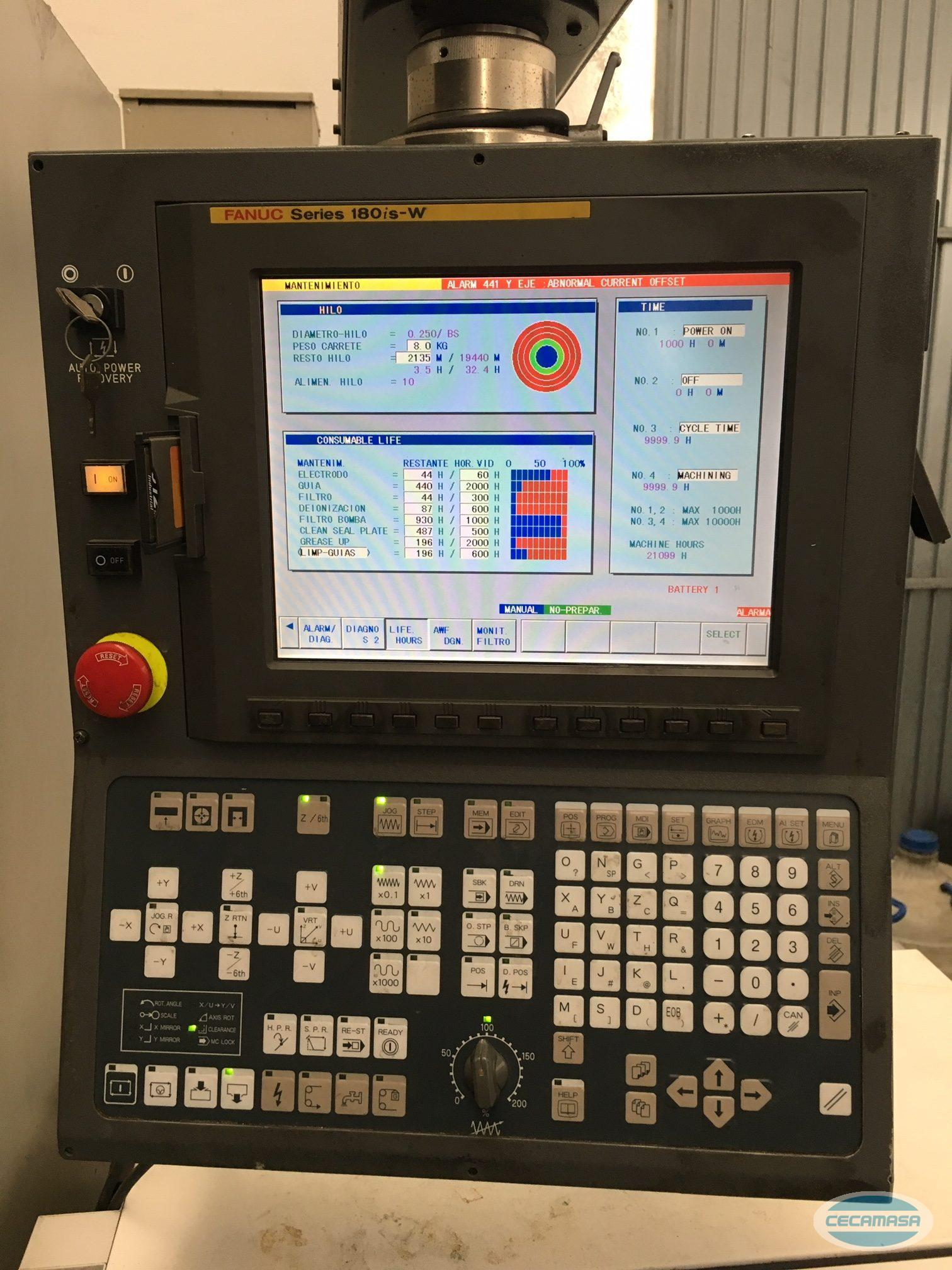 ELECTROSIONADORA FANUC ROBOCUT ALPHA-0IB