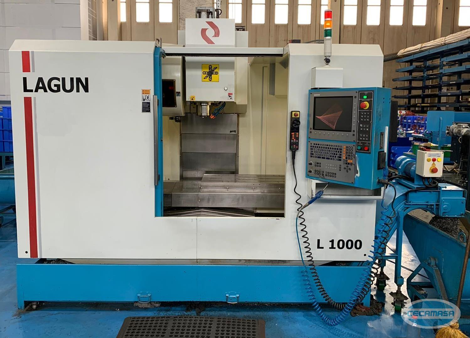 VERTICAL MACHINING CENTER LAGUN L-1000
