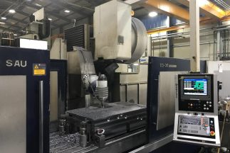 USED SORALUCE TA-35 BED TYPE MILLING MACHINE