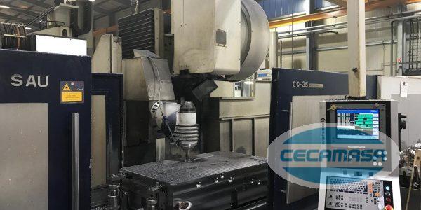 Fixed bed milling machine SORALUCE TA-35 USED