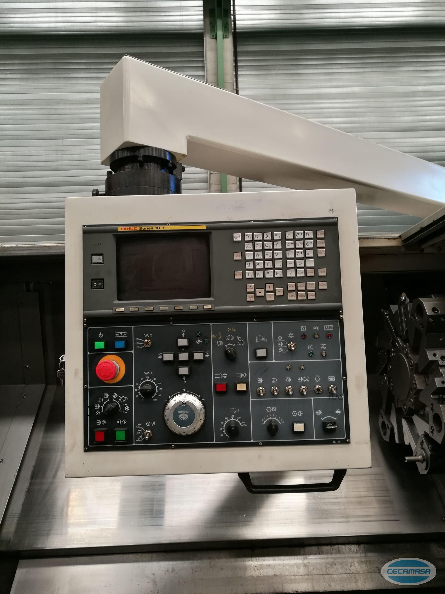 CNC Daewoo Puma 300 LB zweiten Mano