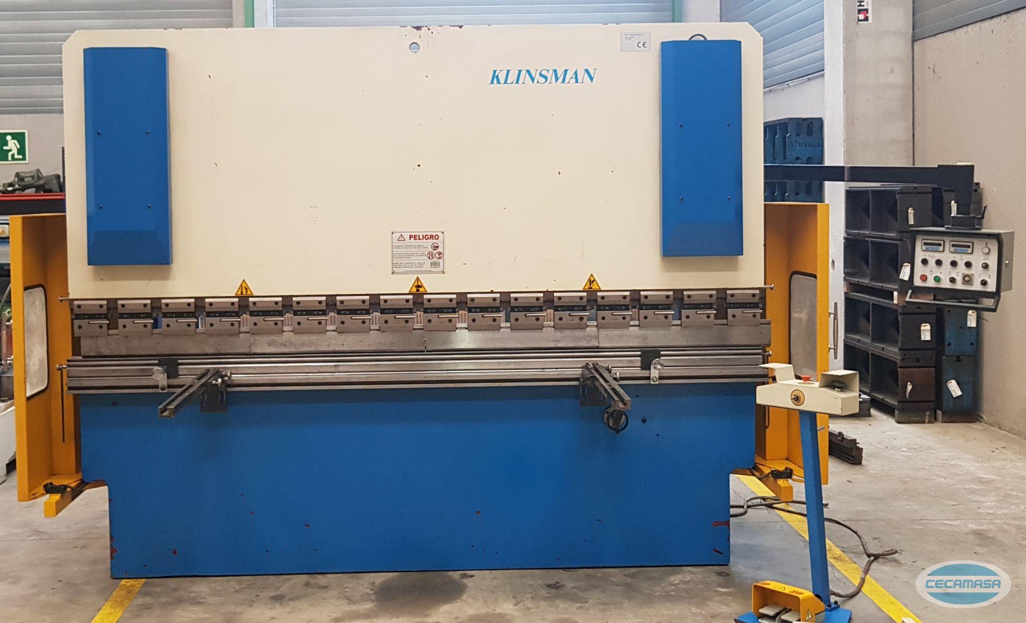 PLEGADORA KLINSMAN RPP125-320 DE OCASIÓN