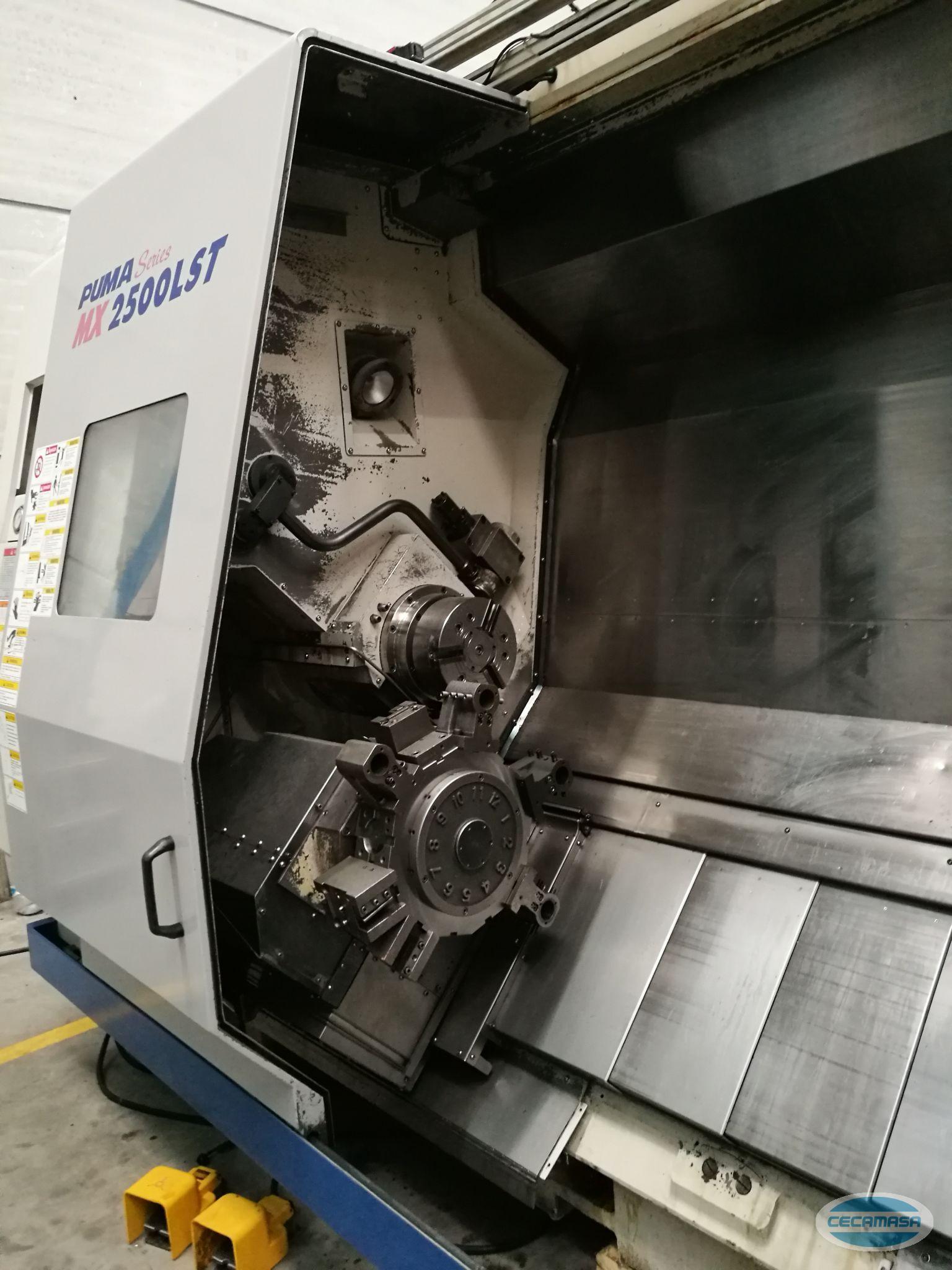 CNC LATHE DOOSAN PUMA MX 2500 LST OCCASION