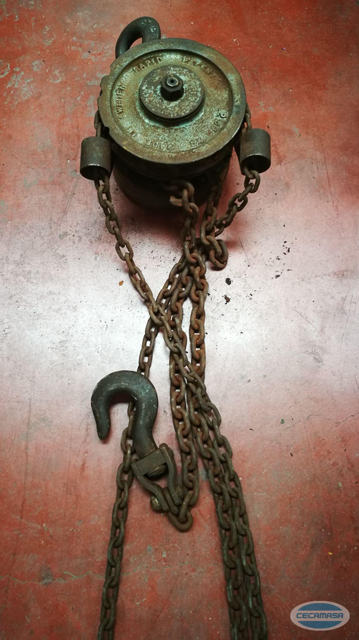 Handaufzug PATENT 250 kg verwendet
