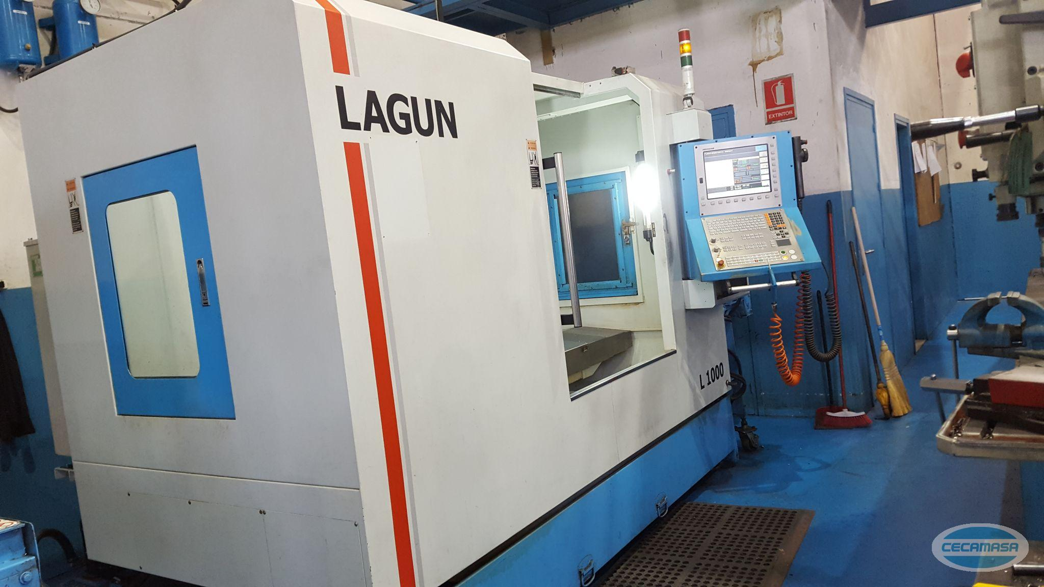 SECOND-HAND LAGUN L1000 MACHINING CENTER