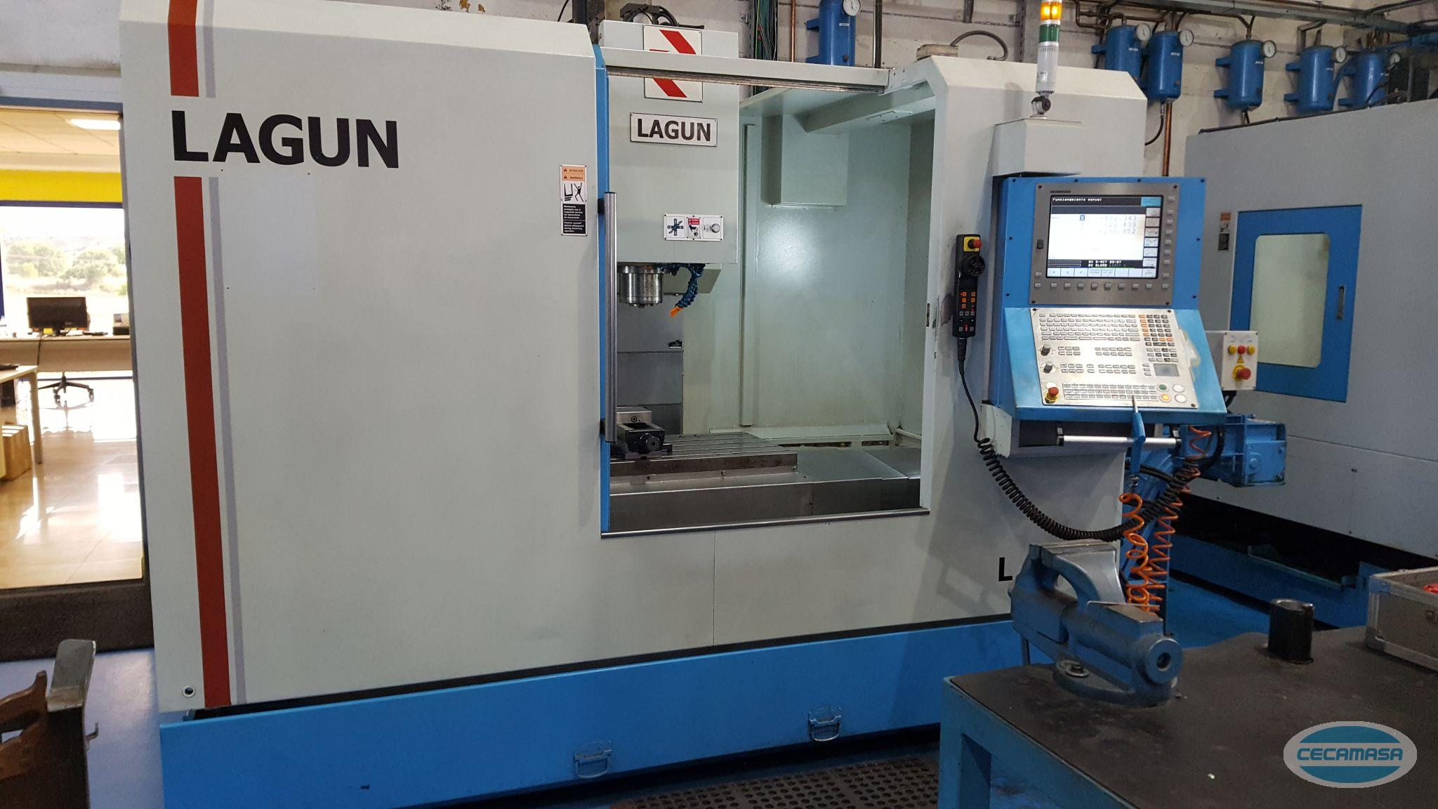 USED LAGUN L1000 MACHINING CENTER
