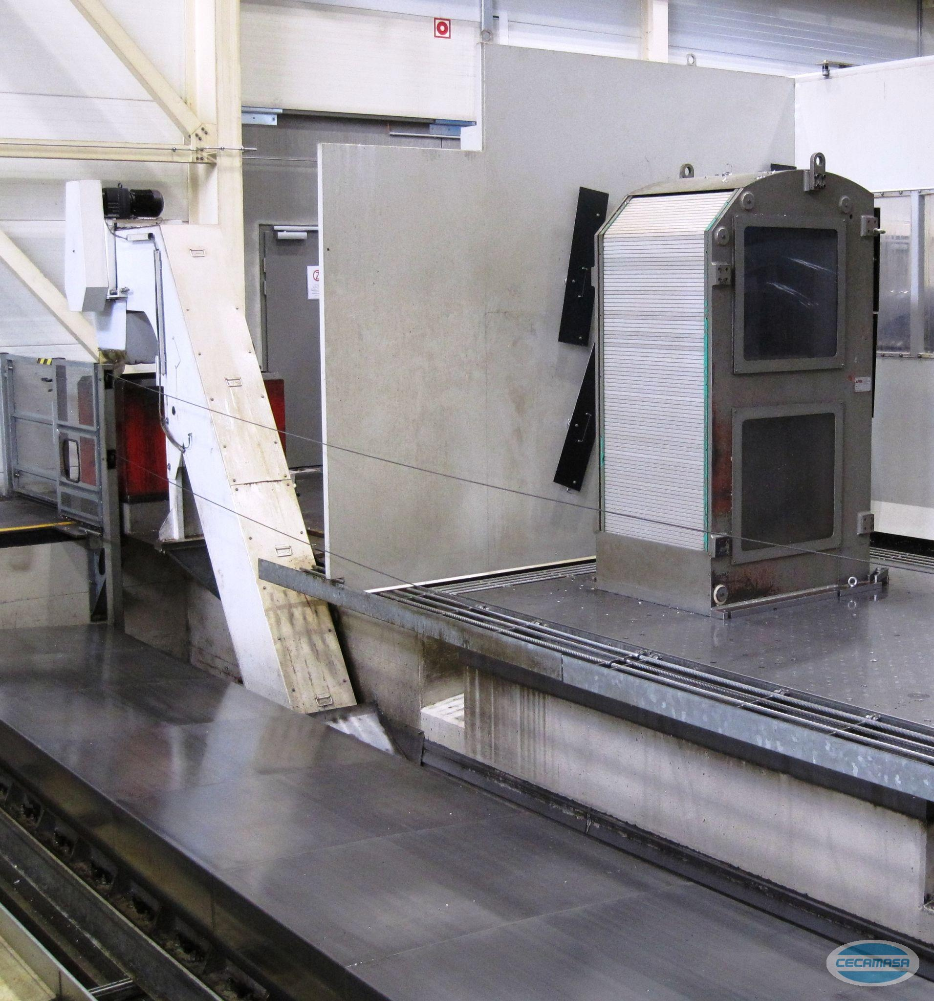USED ZAYER 16000 MOBILE COLUMN MILLING