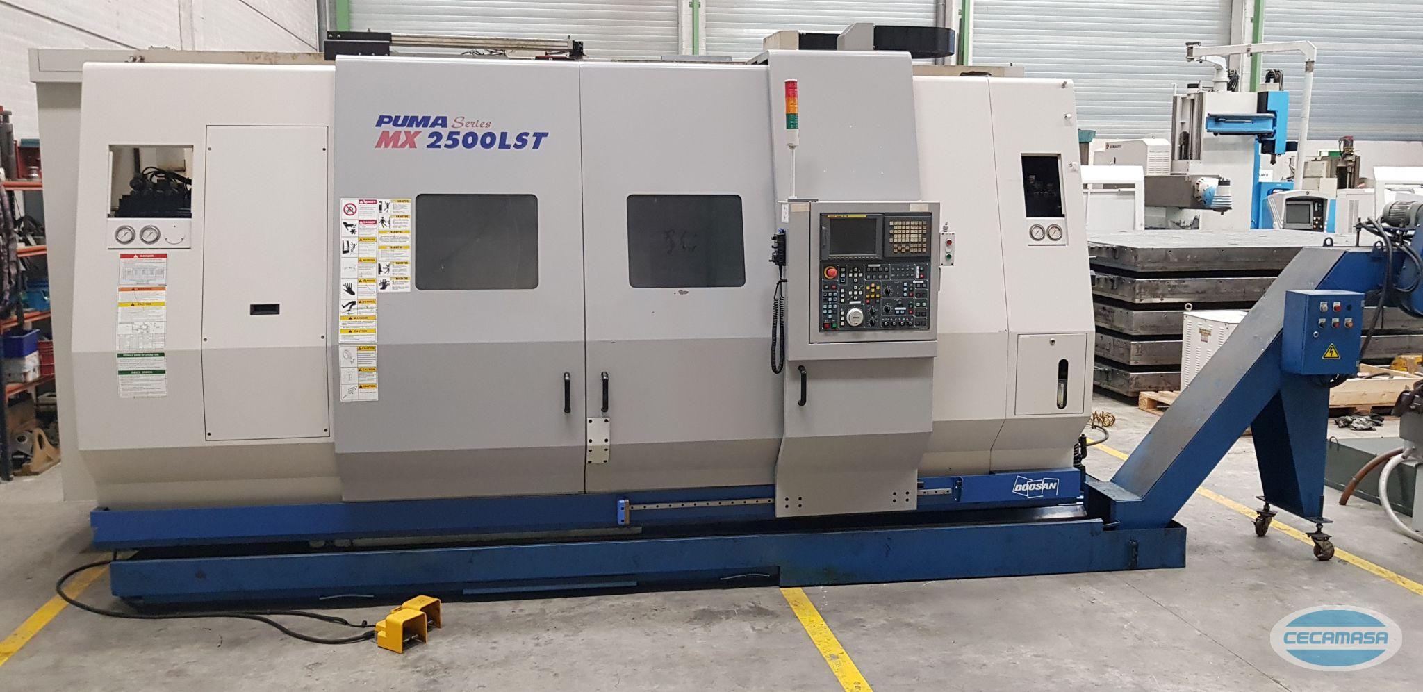 CNC-Drehmaschine DOOSAN PUMA MX 2500 LST OCCASION