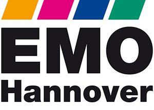 Logo feria de Hannover EMO 2019