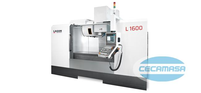 LAGUN L1600 machining center - CECAMASA