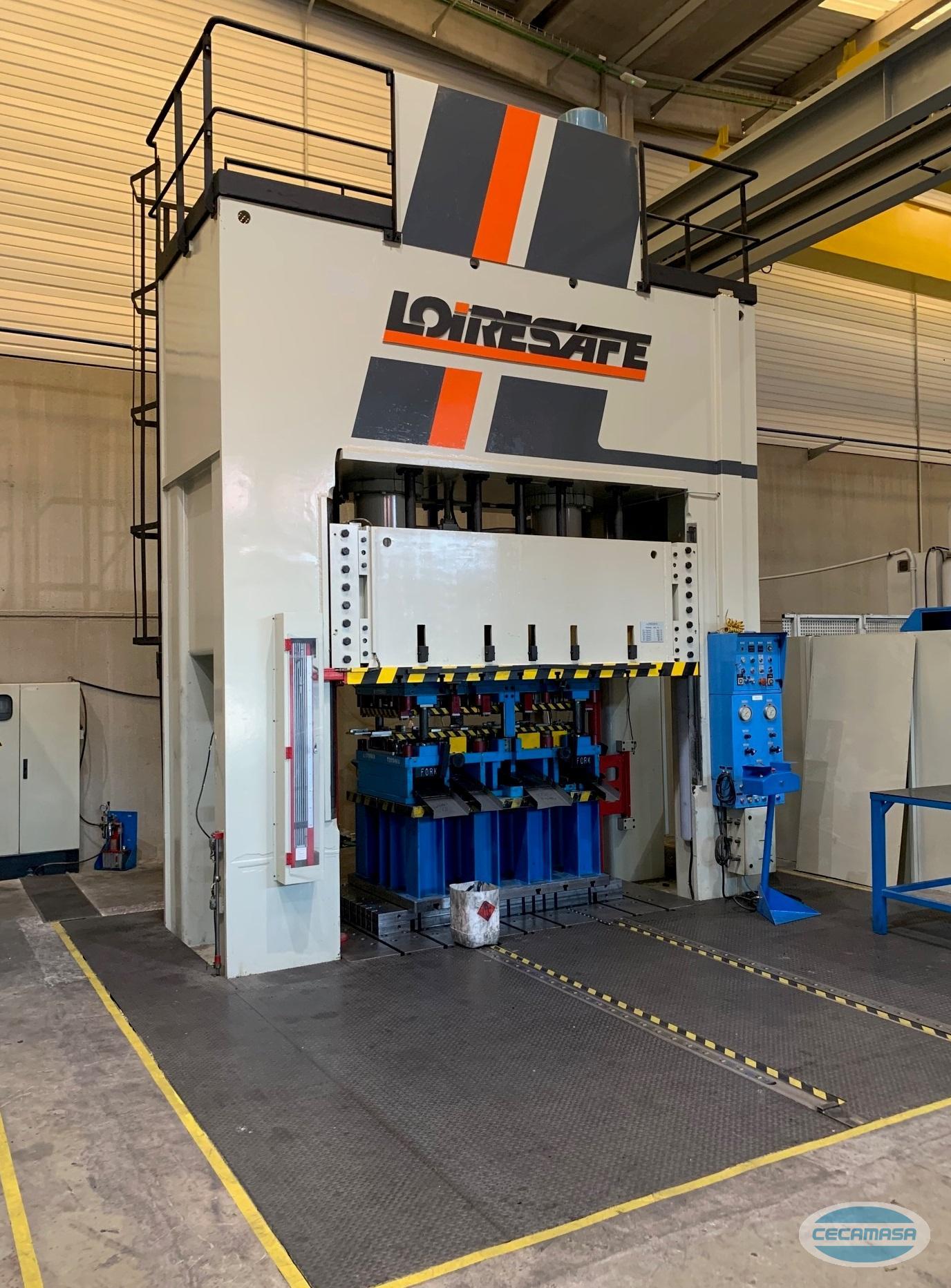 Used LOIRESAFE press 500 t