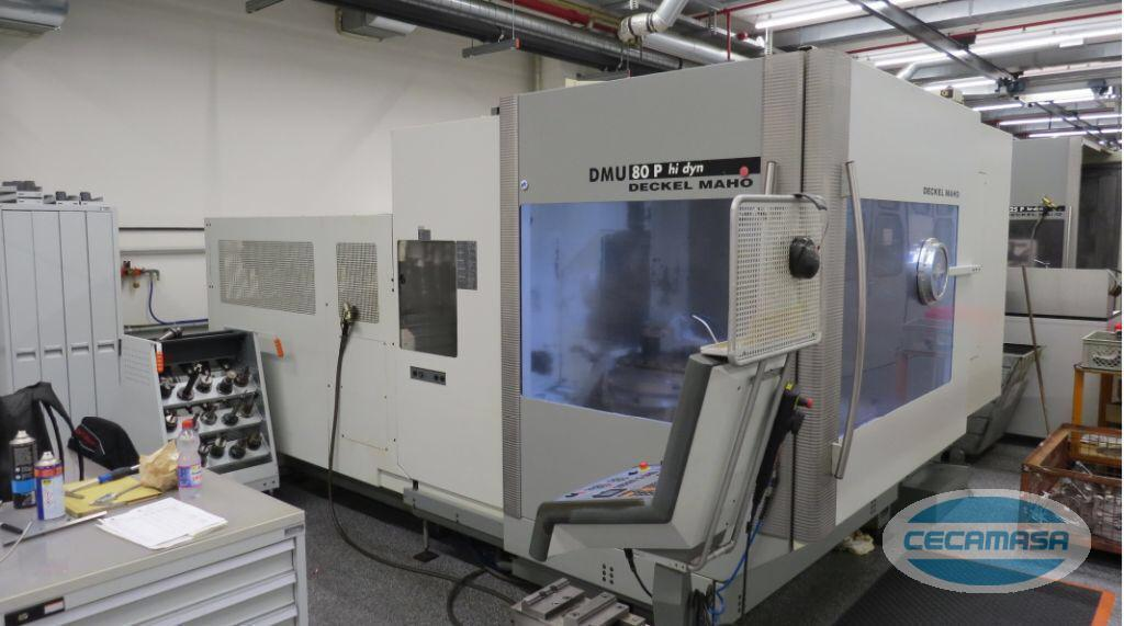DECKEL MAHO DMU 80 P hi dyn MACHINING CENTER