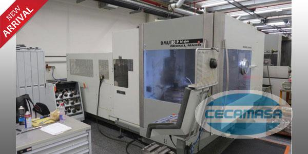 MACHINING CENTER DECKEL MAHO DMU 80 P-Hallo dyn 5 Achsen