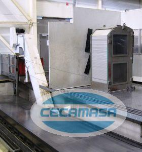 Pick-up of heads ZAYER 16000 AR traveling milling machine