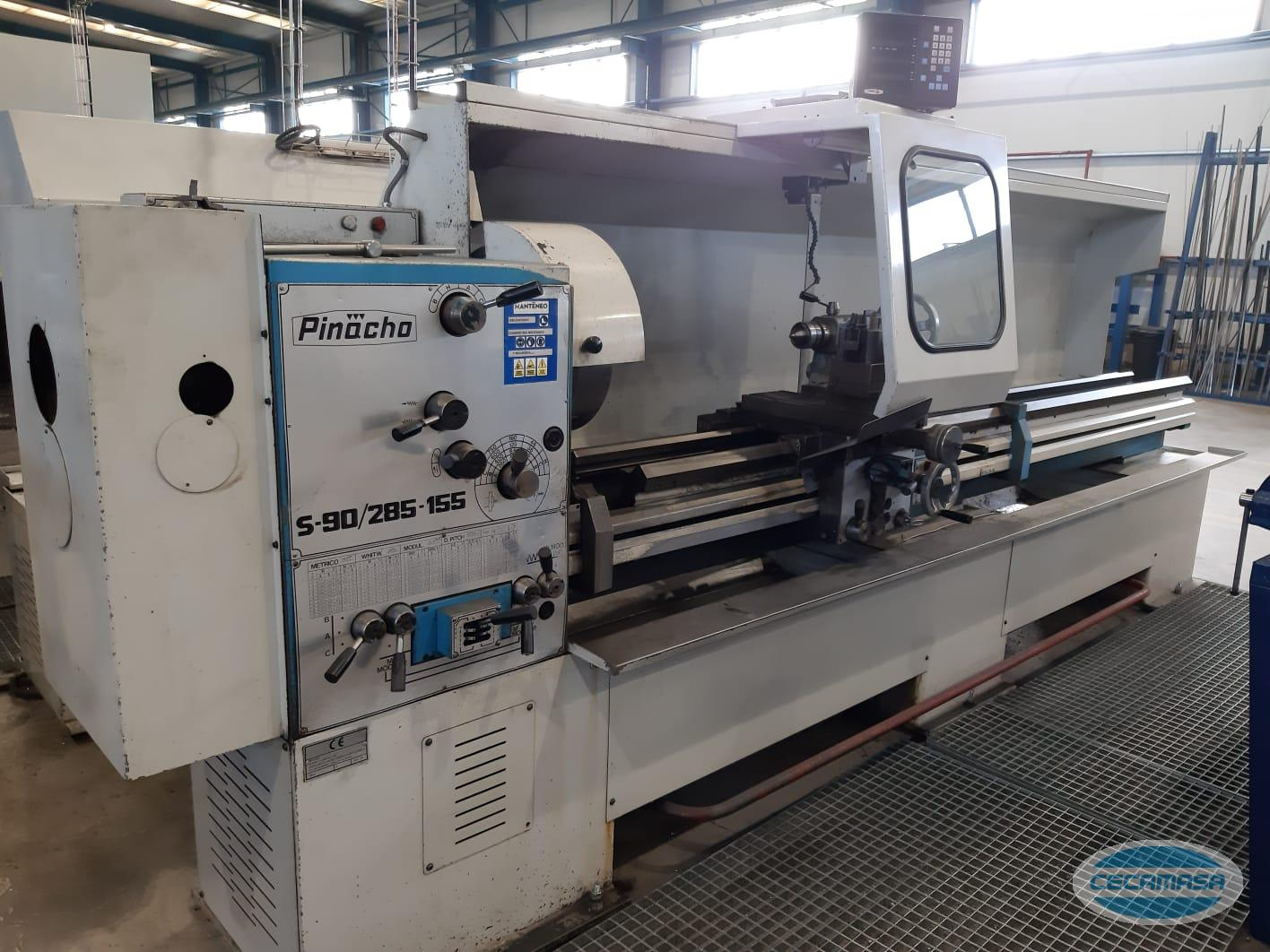 Second-hand Pinacho lathe