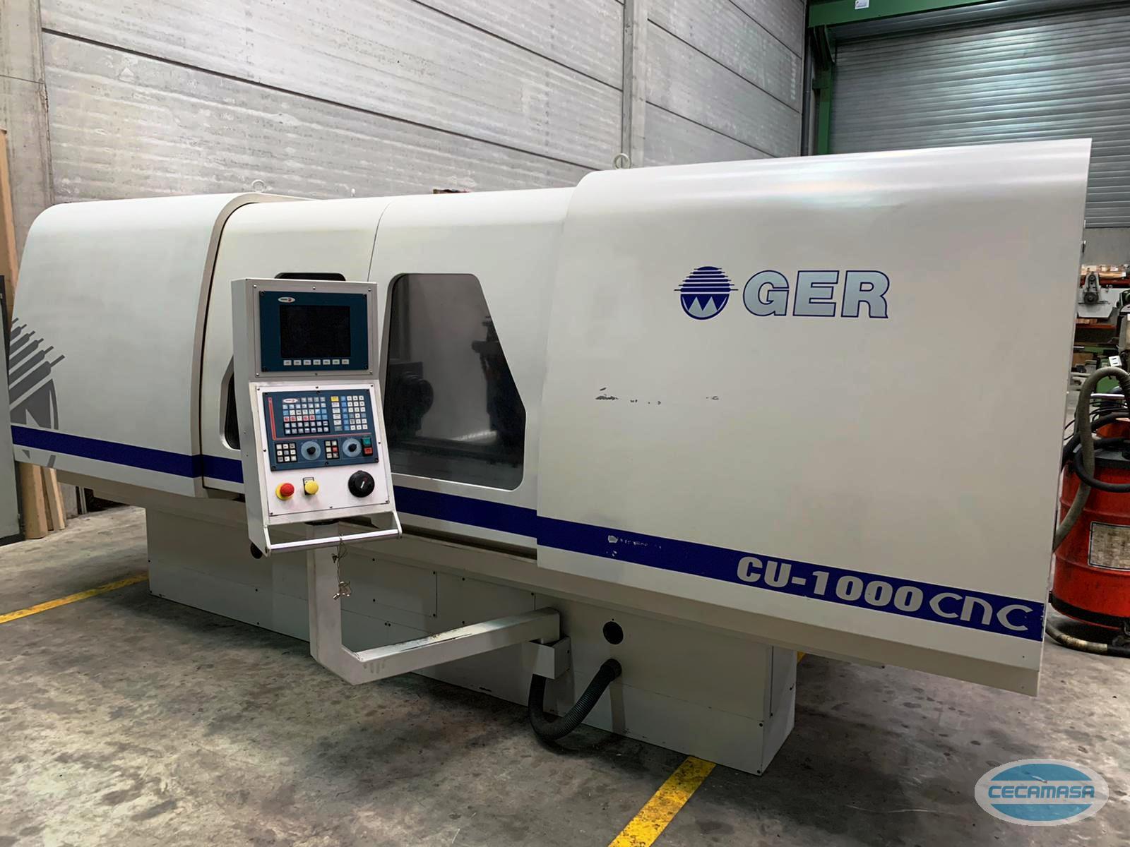 GER CU 1000 CNC grinder