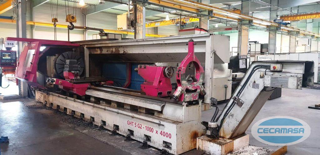 Second-hand GEMINIS GHT5 G2 cnc lathe