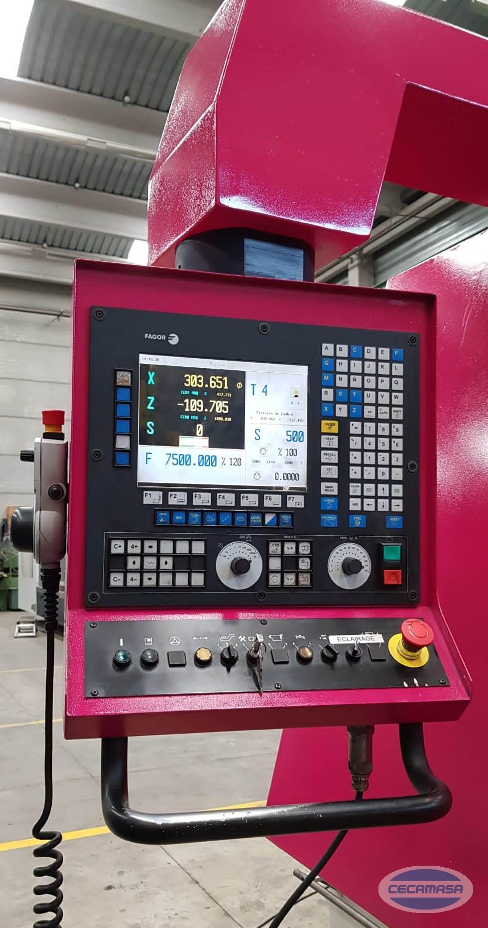 CNC lathe double FAGOR