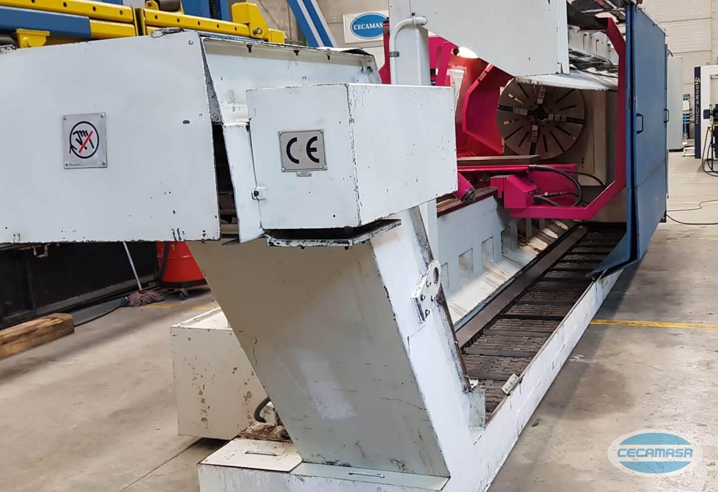Lathe chip conveyor 5 GEMINI GHT G2 1000X4000