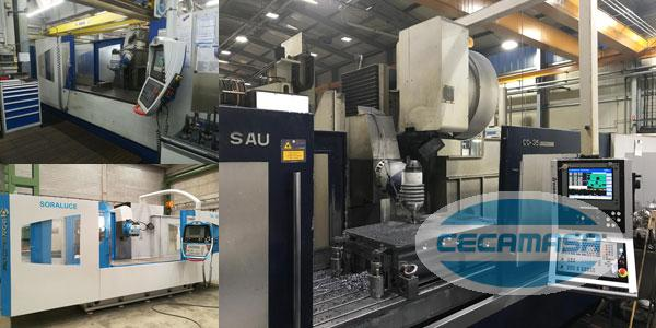 second hand soraluce milling machines