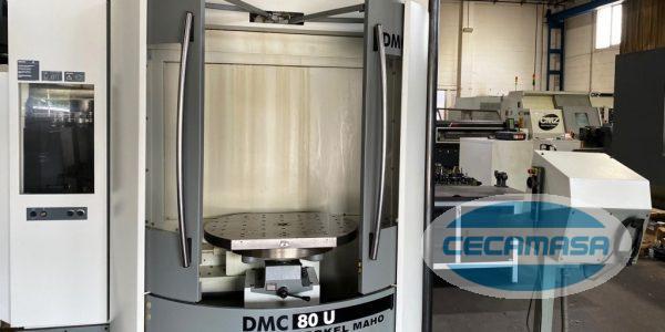 second-hand DECKEL MAHO DMC 80U machining center
