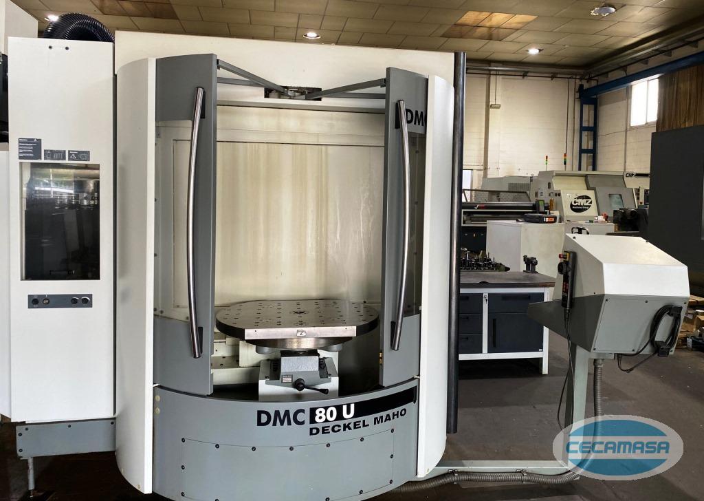 centro de mecanizado DECKEL MAHO DMC 80U de segunda mano