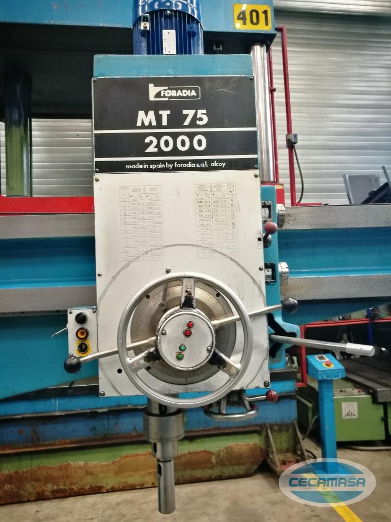taladro radial foradia mt-2000