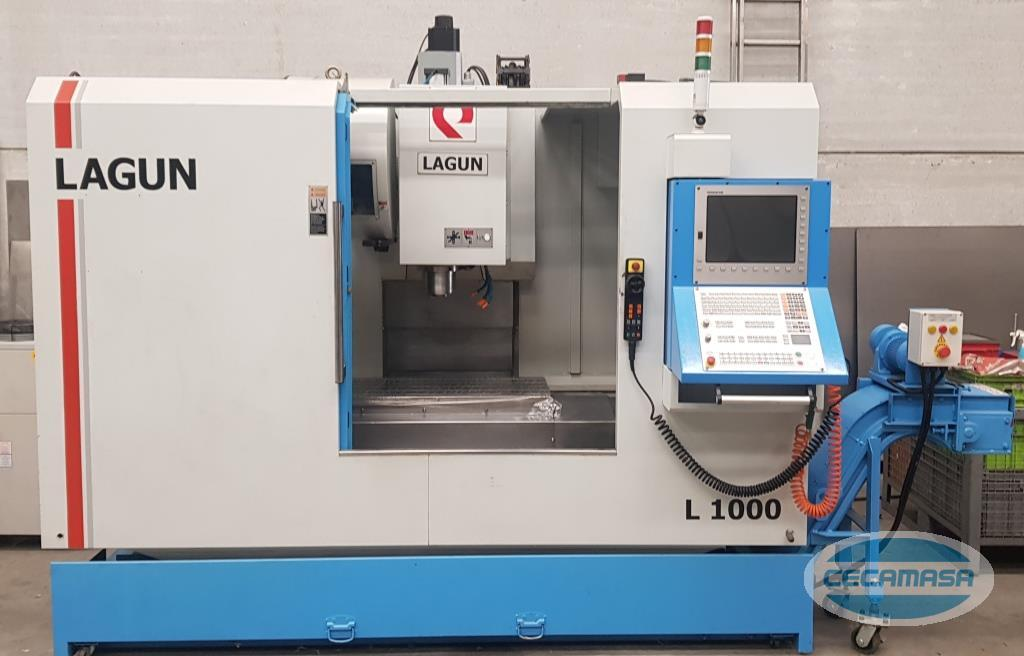 lagun l-1000 machining center