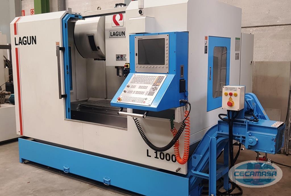 lagun l-1000 machining center