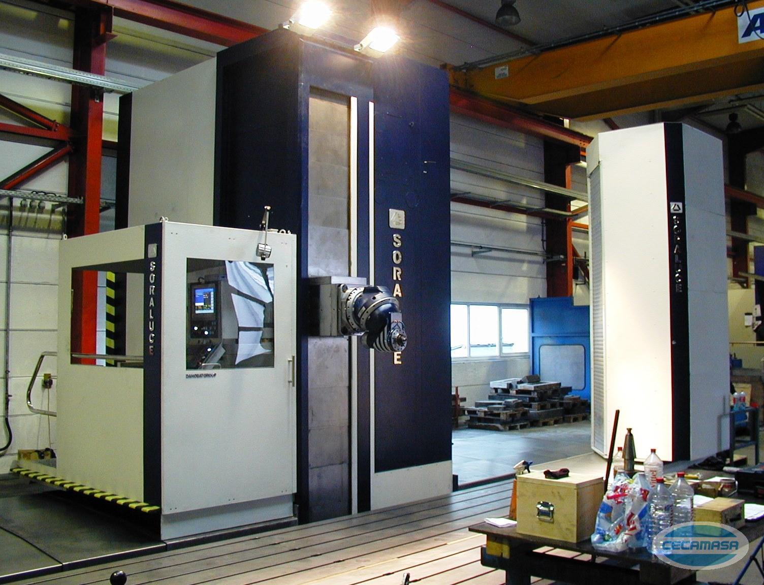 fresadora columna móvil soraluce fs 8000