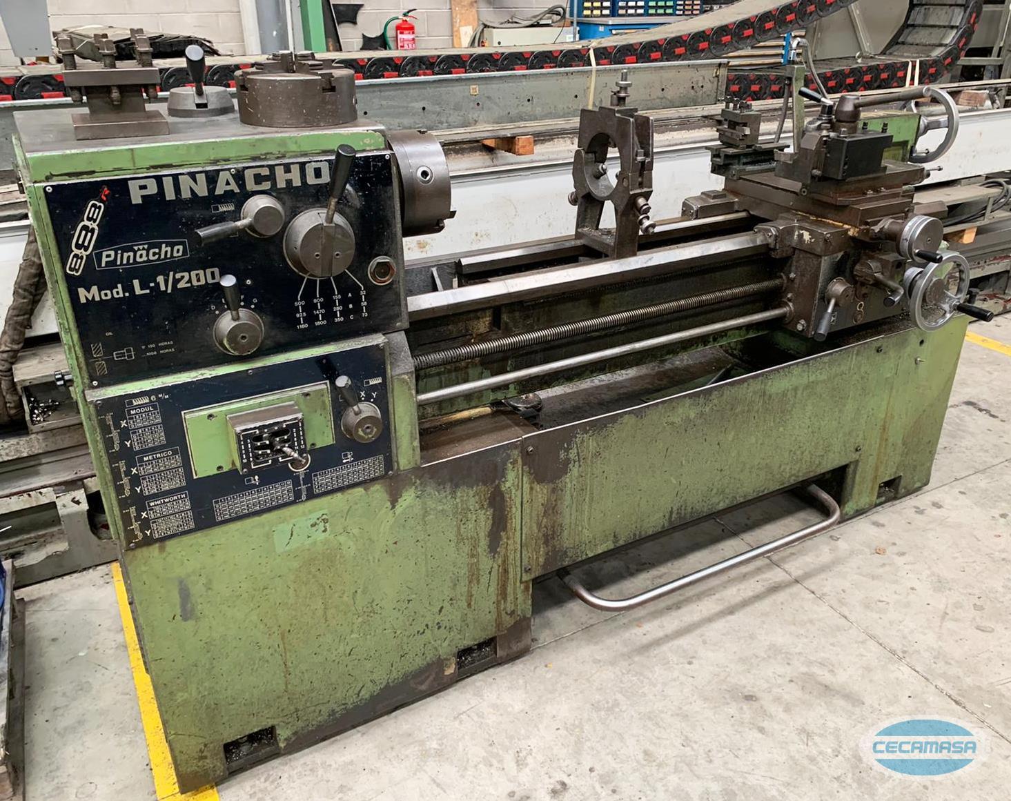 Torno PINACHO L1-200
