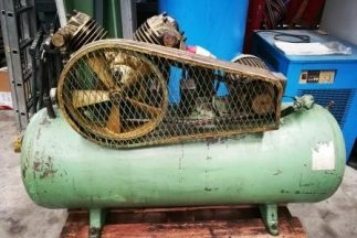 Zweikolben-Puska-Kompressor