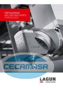 Lagun milling machines catalog cover