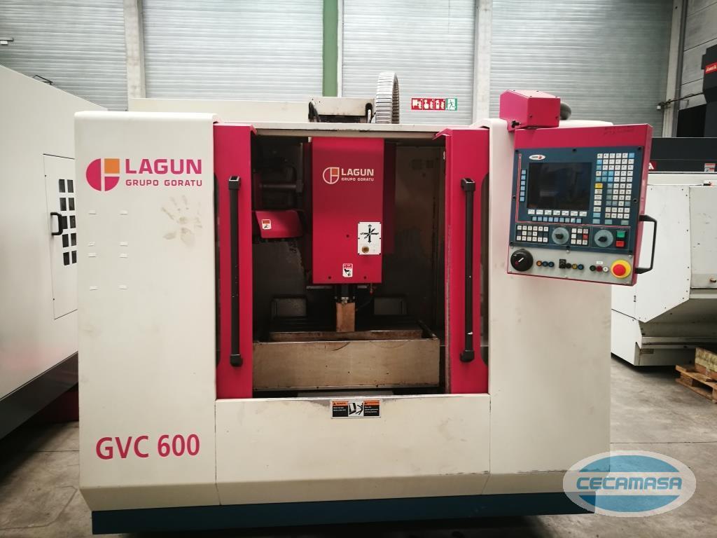 centro de mecanizado LAGUN GVC 600