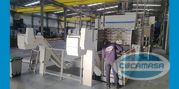 instalación fresadora puente zayer